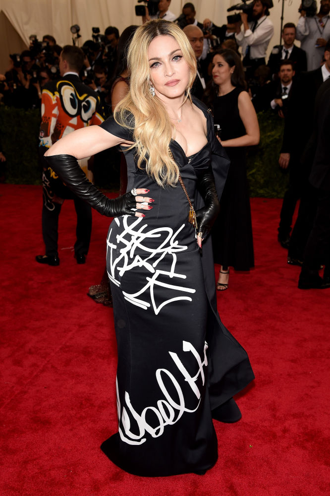 Madonna in Moschino. Photo: Getty Images