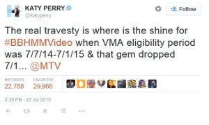 katy perry tweet_VOICEPRIESTESS